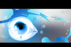 Technology eye Stock Images