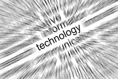 Technology Focus Concept Royalty Free Stock Photos