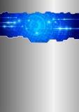 Technology - folder concept Stock Image