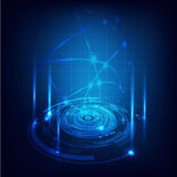 Technology futuristic circuit digital background, Vector & illustration Stock Photography