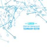 Technology futuristic digital background, Vector illustration Stock Image