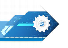 Technology futuristic digital, technology graphic design royalty free illustration
