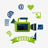 Technology gadget design Stock Photography