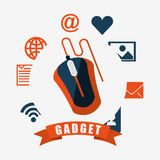Technology gadget design Royalty Free Stock Photography