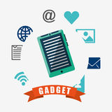Technology gadget design Royalty Free Stock Images