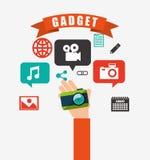 Technology gadget design Stock Image