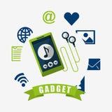 Technology gadget design Royalty Free Stock Image