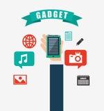 Technology gadget design Stock Photo