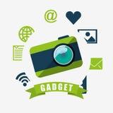 Technology gadget design Stock Images
