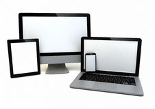 Technology gadgets Royalty Free Stock Images
