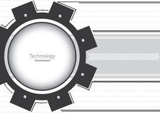 Technology Gears Background Royalty Free Stock Photos