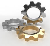 Technology gears cog design copy space Royalty Free Stock Image