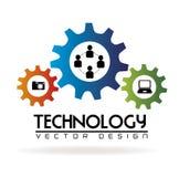 Technology gears stock illustration