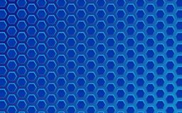 Technology geometric background with blue hexagon texture. Vector design eps 10. Abstract science design royalty free illustration