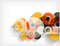 Technology geometric shape abstract background Royalty Free Stock Photos