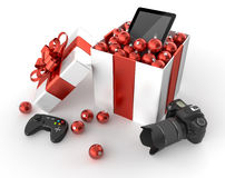 Technology gifts Stock Photos