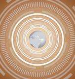 Technology Global Background Stock Image