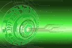 Technology graphic background. Royalty Free Stock Image