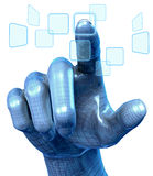 Technology Hand Stock Photo