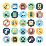 Technology & Hardware 2 Vector Illustration. Here is the collection Technology and Hardware icons set. This icons set is composed to everything related Stock Photo