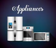 Technology home appliances Stock Photos