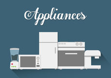 Technology home appliances Stock Photo