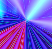 Technology on the horizon. Background design of colorful good technology  perspective abstract with horizon lines and bursts of laser lights Royalty Free Stock Photography