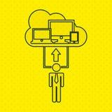 Technology icon design. Illustration eps10 graphic Stock Photos