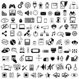 Technology icon Stock Photo