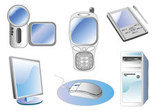 Technology icon vector Stock Photography