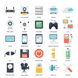 Technology icons Royalty Free Stock Image