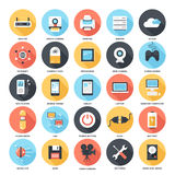 Technology icons Stock Image