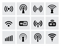 Technology icons Stock Photos