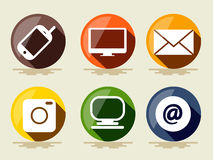 Technology Icons. Royalty Free Stock Images
