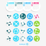 Technology icons Royalty Free Stock Images