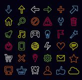 Technology icons and signs Stock Photos
