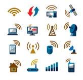 Technology icons Stock Photos