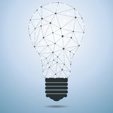 Technology Idea Bulb Royalty Free Stock Photo