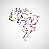 Technology image of Brazil Stock Photos