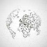 Technology image of globe Stock Images