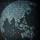 Technology image of globe Stock Image