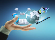 Free Technology In The Hands Royalty Free Stock Images - 38213409