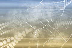 Technology Industrial Network Abstract royalty free illustration