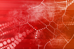 Technology Industrial Network Abstract stock illustration