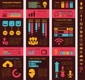 Technology Industry Infographic Elements Stock Photography