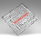 Technology Info-text (cloud), Illustration With S Stock Photography