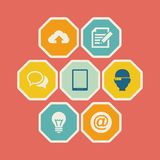 Technology Infographic Elements. Stock Photos