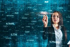 Technology and information concept stock image