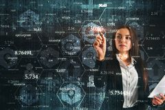Technology and information concept stock photos