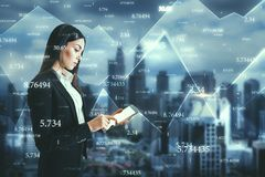Technology and information concept stock photo